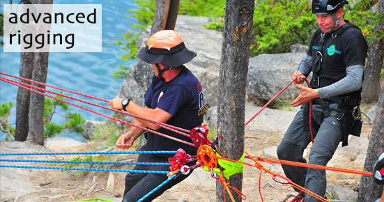 Advanced Rigging Ropes that Rescue